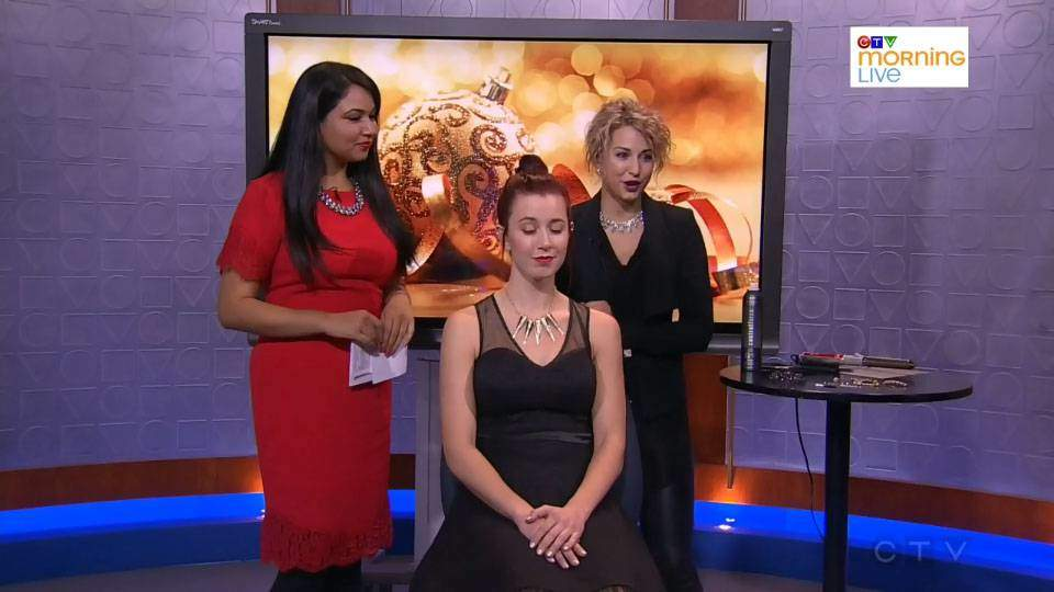 CTV Calgary: Simple Holiday Styles